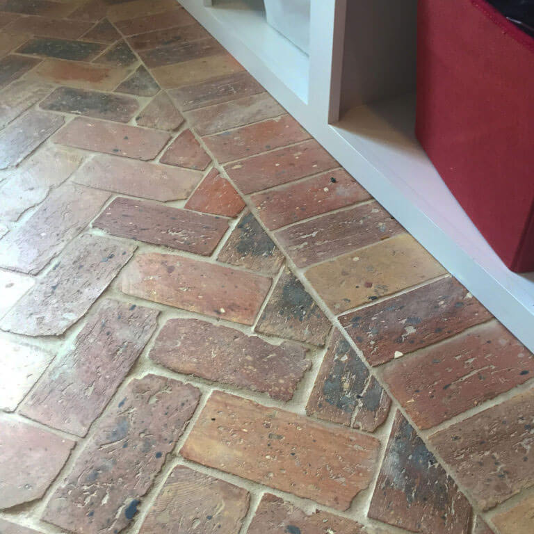 Reclaimed Thin Brick Floors